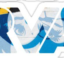 """RVA - flood wall """"PoP Art stickers"""" Sticker"""