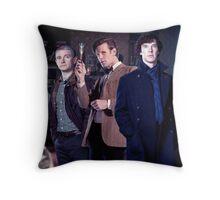 221b Baker street. Throw Pillow