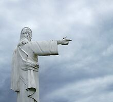 Statue of Jesus Christ by Iryna Shpulak