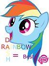 Rainbow Dash = Best Pony by eeveemastermind
