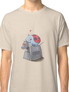 Catbug Loves K-9 Classic T-Shirt