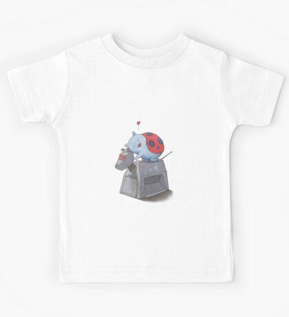 Catbug Loves K-9 Kids Tee