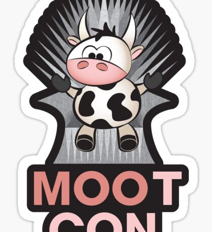 MOOt Con! Sticker