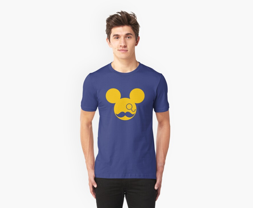 Moustache British Mickey Mouse by stabilitees