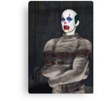 Psycho Clown Canvas Print