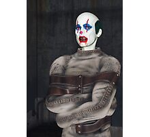 Psycho Clown Photographic Print