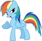 Rainbow Dash by eeveemastermind