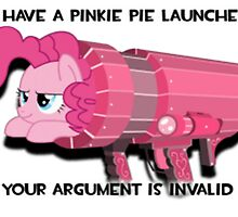 Pinkie Launcher by eeveemastermind