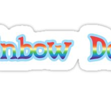 Rainbow Dash Sticker Sticker