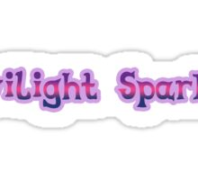 Twilight Sparkle Sticker Sticker