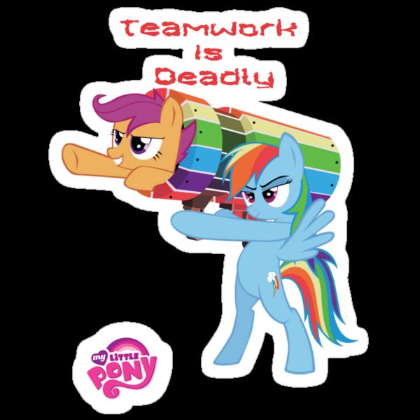 Teamwork Is Deadly by eeveemastermind