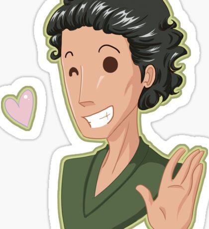 Hiddleston Love! (Alternate Version!) Sticker