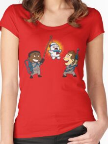 Puft Piñata Women's Fitted Scoop T-Shirt