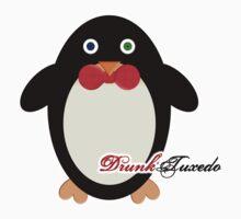 DrunkTuxedo Penguin Kids Clothes