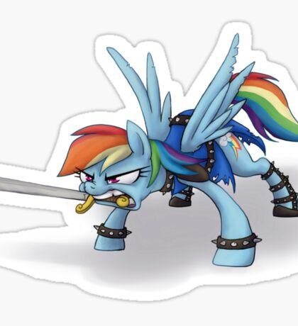 Rainbow Dash is Dragonborn  Sticker