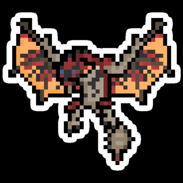 Pixel Ratholos Wyvern Sticker by PixelBlock