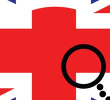 Moustache British Mickey Mouse Sticker