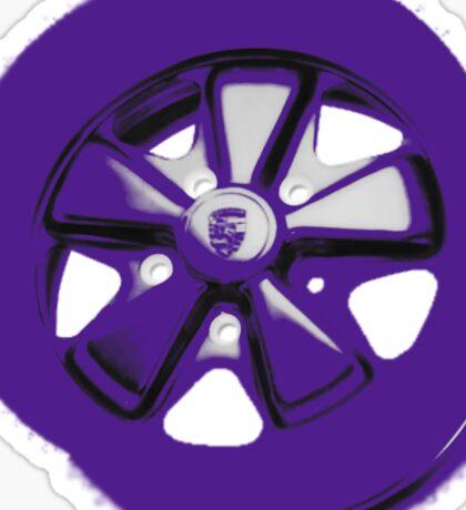 Purple Fuchs Sticker
