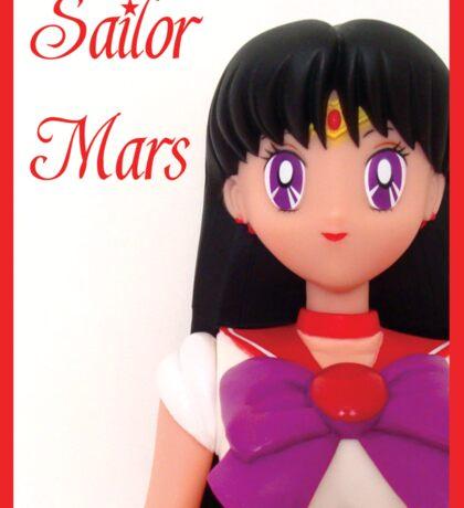 I am Sailor Mars  Sticker