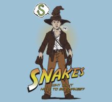 Snakes, why did it have to be snakes? (Alt) Kids Tee