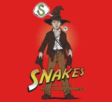 Snakes, why did it have to be snakes? (Alt) by mannypdesign