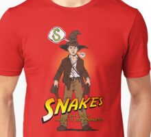 Snakes, why did it have to be snakes? (Alt) Unisex T-Shirt