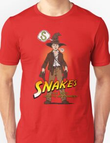 Snakes, why did it have to be snakes? (Alt) T-Shirt