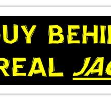 Real Jagoff Sticker