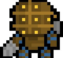 Pixel Big Daddy Sticker by PixelBlock