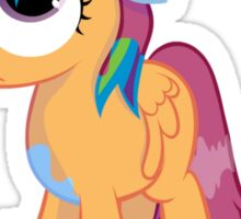 Scootaloo Wanna Be Rainbow Dash  Sticker