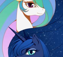 Celestia &  Luna Sticker