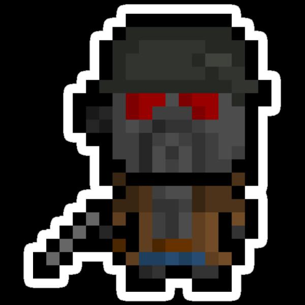 Pixel NCR Veteran Ranger Sticker by PixelBlock