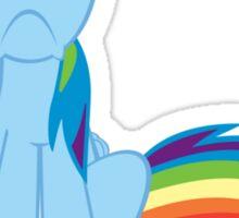 Egghead Rainbow Dash Sticker