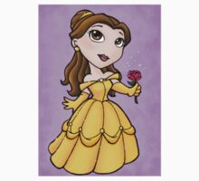 Belle Sticker by NikkiArt