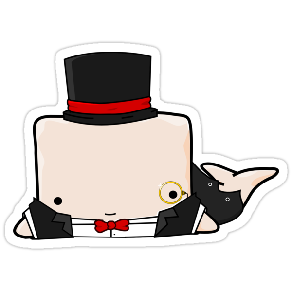 Fancy Whailz Sticker by pixelpatch