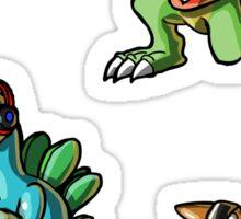 Baby Dino Rockers Stickers Sticker