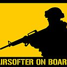 Airsofter on board by MrYum
