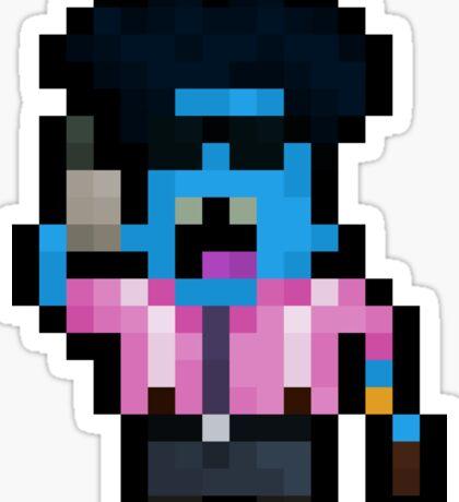 Pixelboss Mundo Sticker