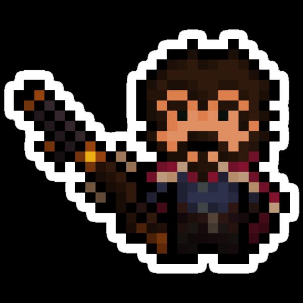 Pixel-Gunslinger Graves by Pixel-League