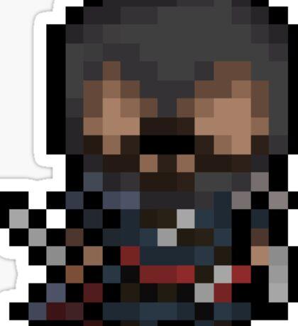 Ezio, The Pixel Assassin Sticker