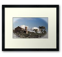 Rural Decay Framed Print