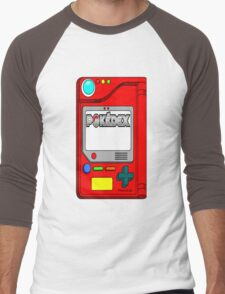 Pokedex - Pokemon t-shirt Men's Baseball ¾ T-Shirt