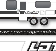 LOTUS Caravan Group Sticker