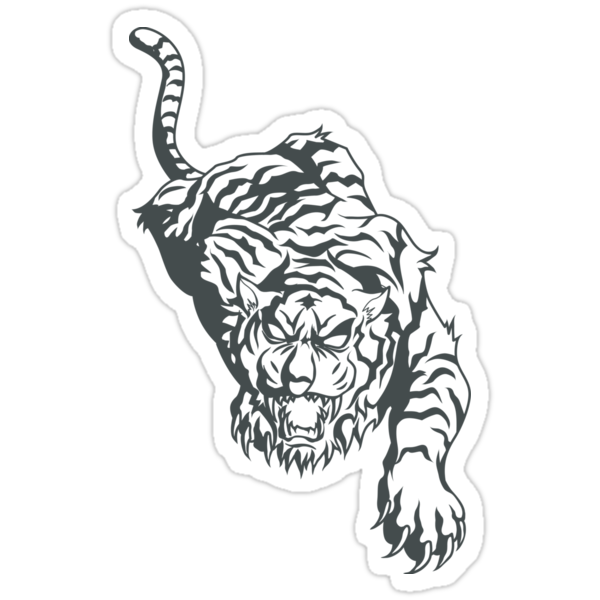 Tattoo tiger by Chrome Clothing