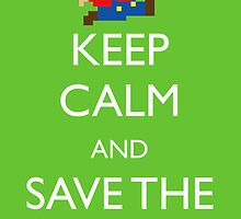 Keep Calm Mario! by machmigo