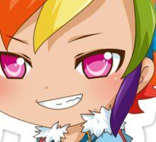 Rainbow Dash Gijinka Sticker
