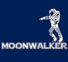 Moonwalker Sticker by slmike82
