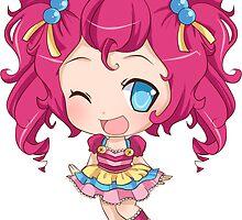 Pinkie Pie Gijinka Sticker by PocketCucco