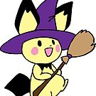 Halloween Pichu by gtooth