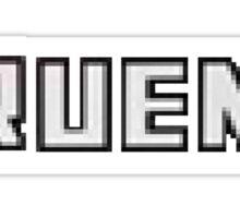 Pixel AE86 TRUENO Boot Sticker Sticker